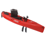 Hobie Mirage Revolution 11 Kayak Red Hibiscus