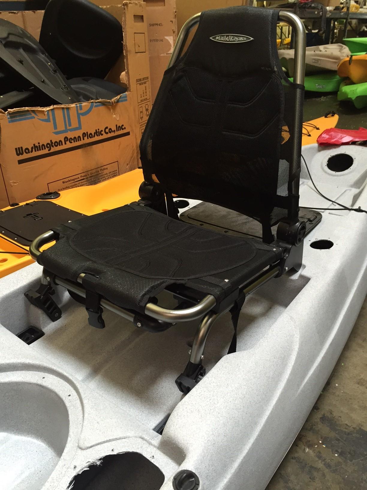Malibu kayaks x seat for Kayak fishing seats