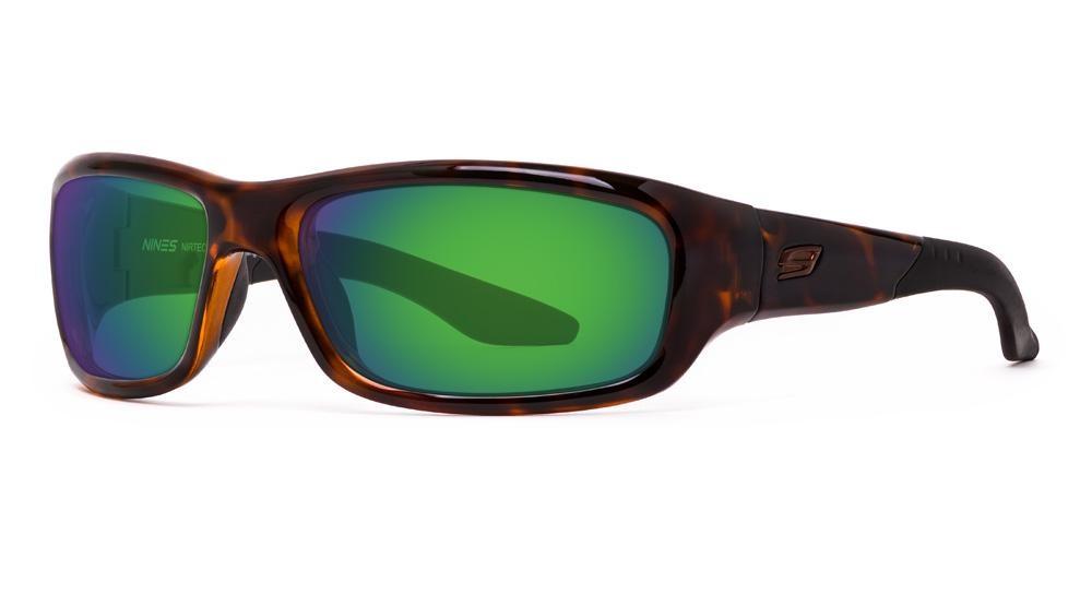Tortoise Amber Lens w/Green Mirror