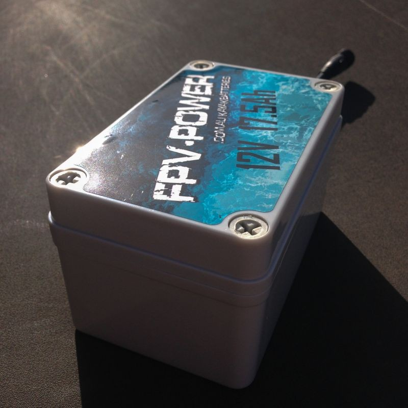 FPV-Power 17.5 Ah Waterproof Lithium Battery & Charger