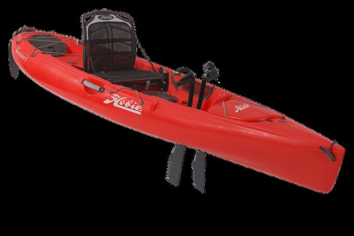 Hobie Mirage Revolution 11 Kayak Red Hibiscus