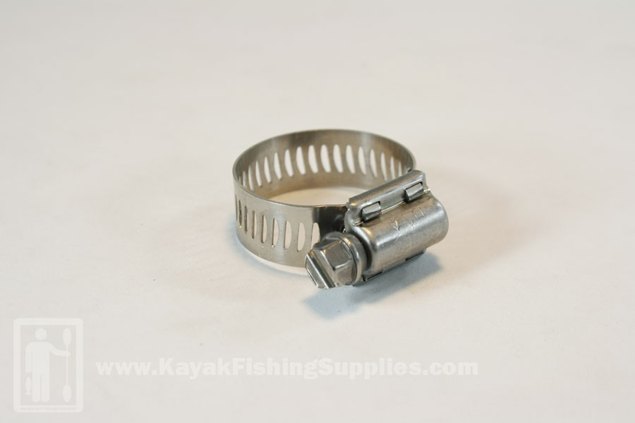 """Stainless Hose Clamp 7/16""""-1 1/4"""""""