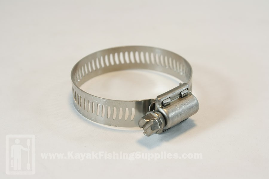 "Stainless Hose Clamp 1 1/4""- 2 1/4"""