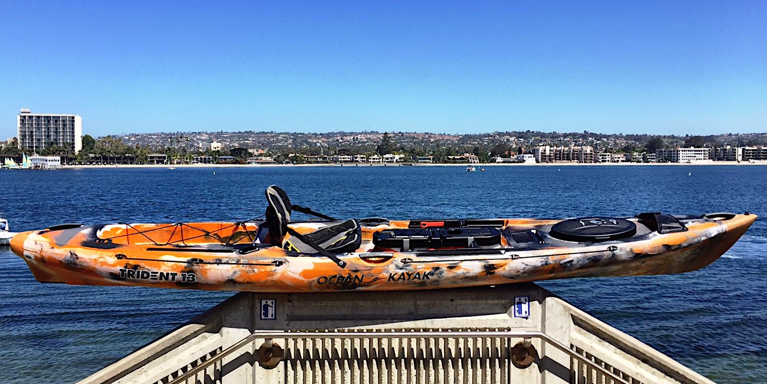 The New Ocean Kayak Trident